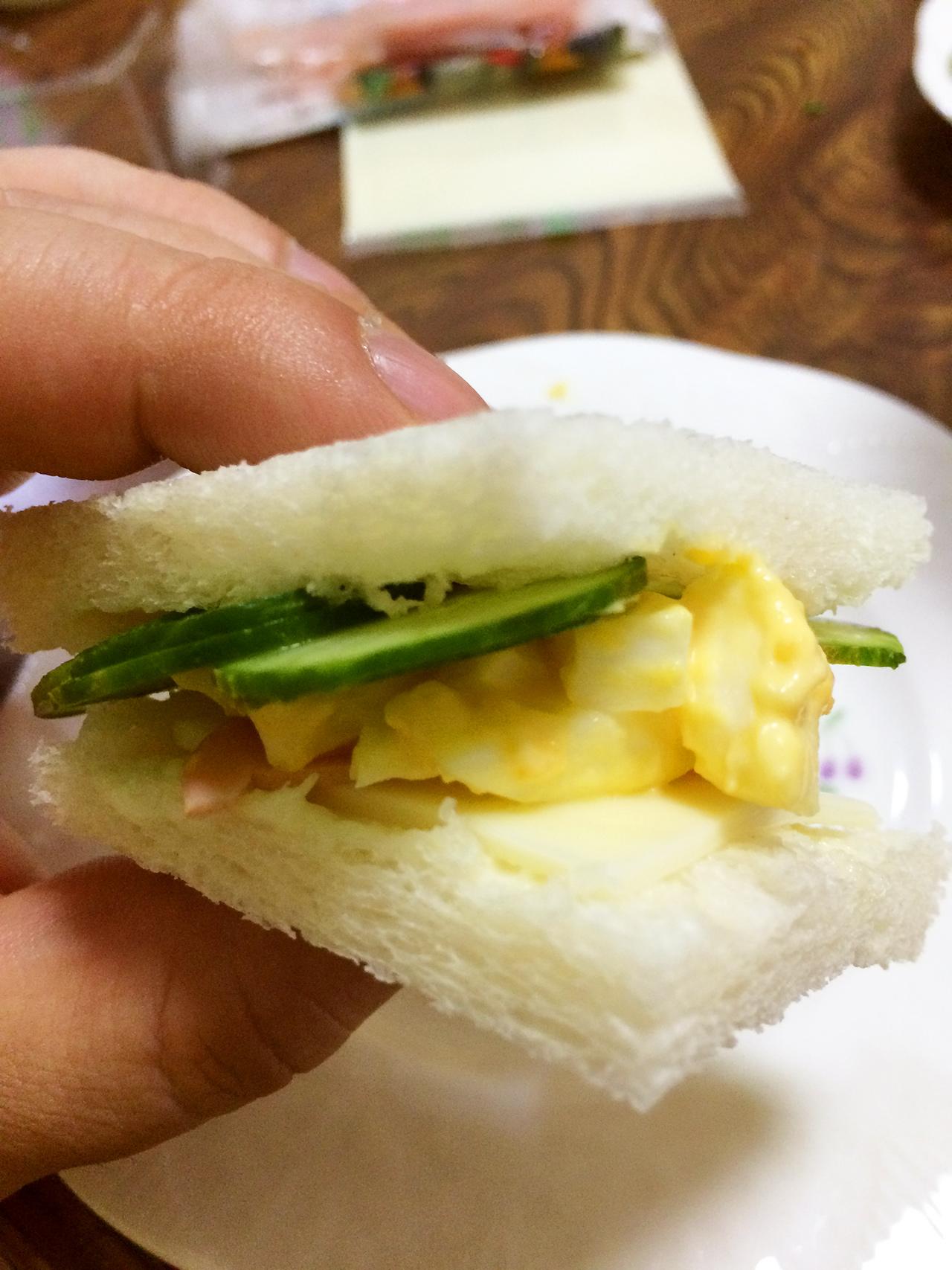 手巻き寿司感覚!のサンドイッチ