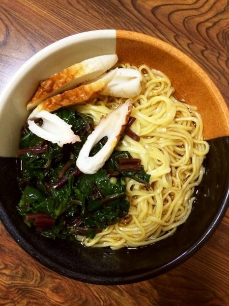 お昼の定番 醤油ラーメン featuring マルちゃん正麺